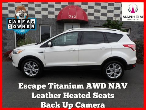 Pre-Owned 2015 Ford Escape Titanium 4WD NAV