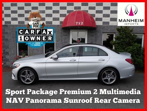 2016 Mercedes-Benz C300 Sport 4Matic NAV AWD