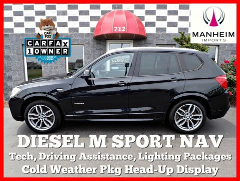 Pre-Owned 2015 BMW X3 xDrive28d M Sport