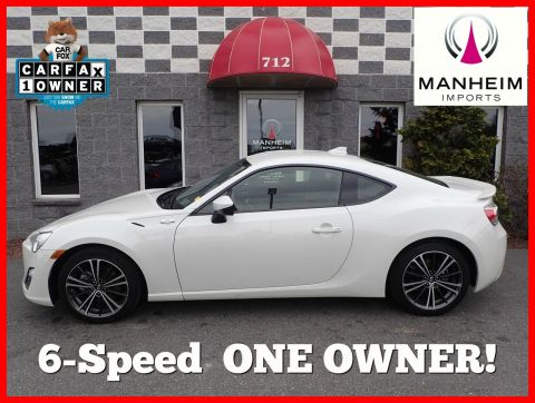 2015 Scion FR-S 6 Speed RWD 2dr Car