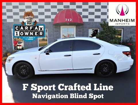 2015 Lexus LS 460 Crafted Line AWD F Sport NAV With Navigation & AWD