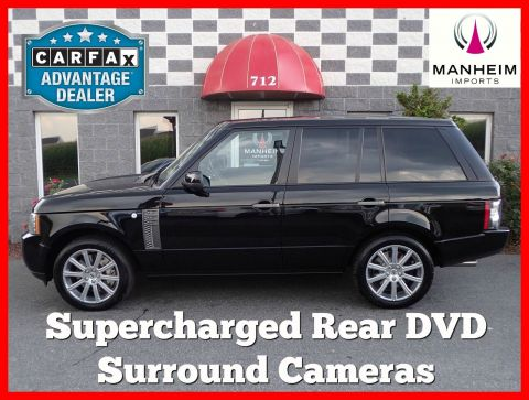 2010 Land Rover Range Rover SC NAV With Navigation & 4WD