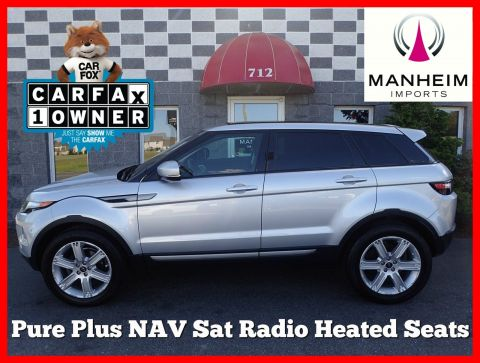 2013 Land Rover Range Rover Evoque Pure Plus NAV 4WD