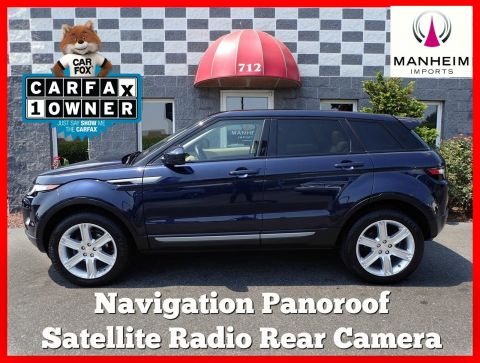 2015 Land Rover Range Rover Evoque Pure Plus Nav 4WD