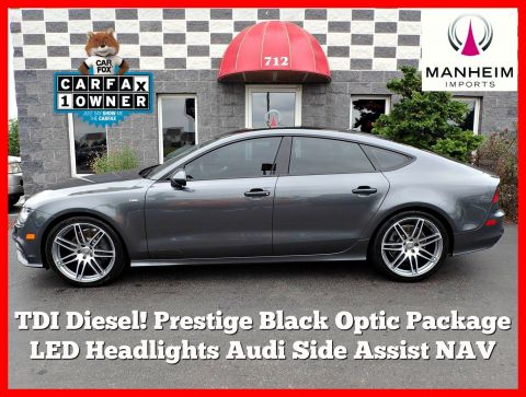 Pre-Owned 2014 Audi A7 TDI Prestige Black Optic