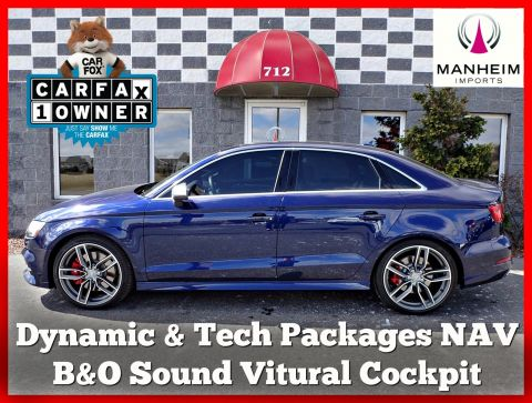 2017 Audi S3 Dynamic Tech NAV AWD