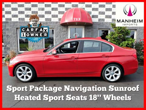 2015 BMW 320i xDrive Sport Package NAV AWD