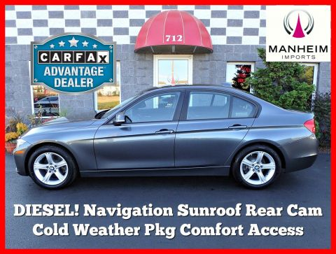 2014 BMW 328d xDrive NAV AWD