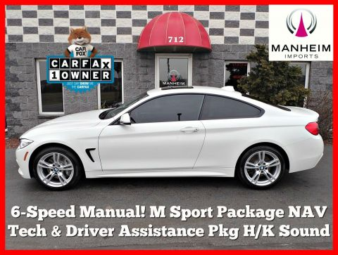 Pre-Owned 2015 BMW 435i xDrive M Sport 6-Speed