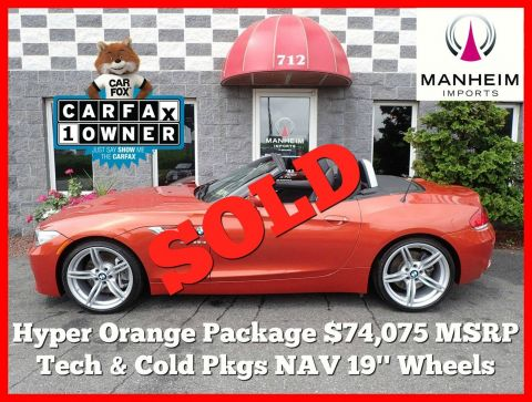 2014 BMW Z4 sDrive35is Hyper Orange Package RWD Convertible