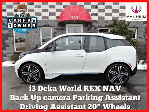 Pre-Owned 2016 BMW i3 REX Deka World