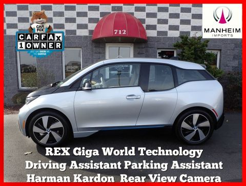 Pre-Owned 2015 BMW i3 REX Giga World Tech