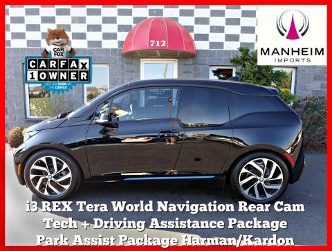 Pre-Owned 2016 BMW i3 REX Tera World