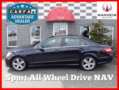 2010 Mercedes-Benz E350 Sport 4Matic NAV AWD