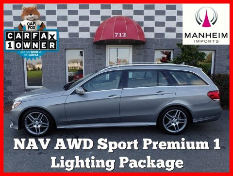 2014 Mercedes-Benz E350 Sport Wagon 4Matic NAV AWD