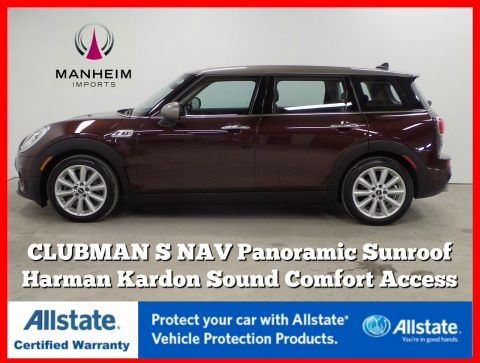 Pre-Owned 2016 MINI Cooper Clubman S NAV