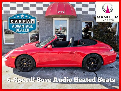 2006 Porsche 911 Carrera Cabriolet 6 Speed RWD Convertible