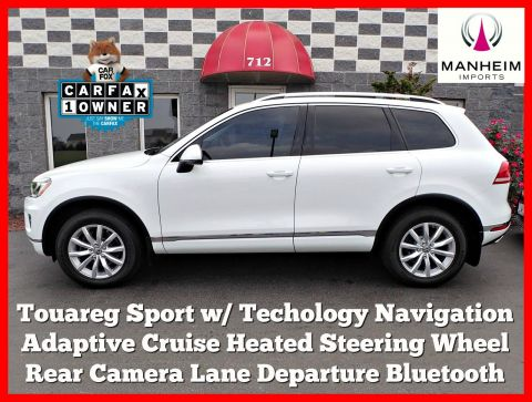 Pre-Owned 2016 Volkswagen Touareg Sport w/Technology