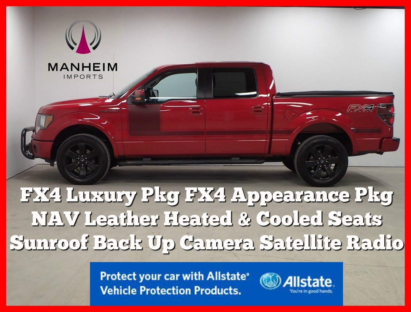 Pre-Owned 2012 Ford F-150 FX4 Luxury NAV