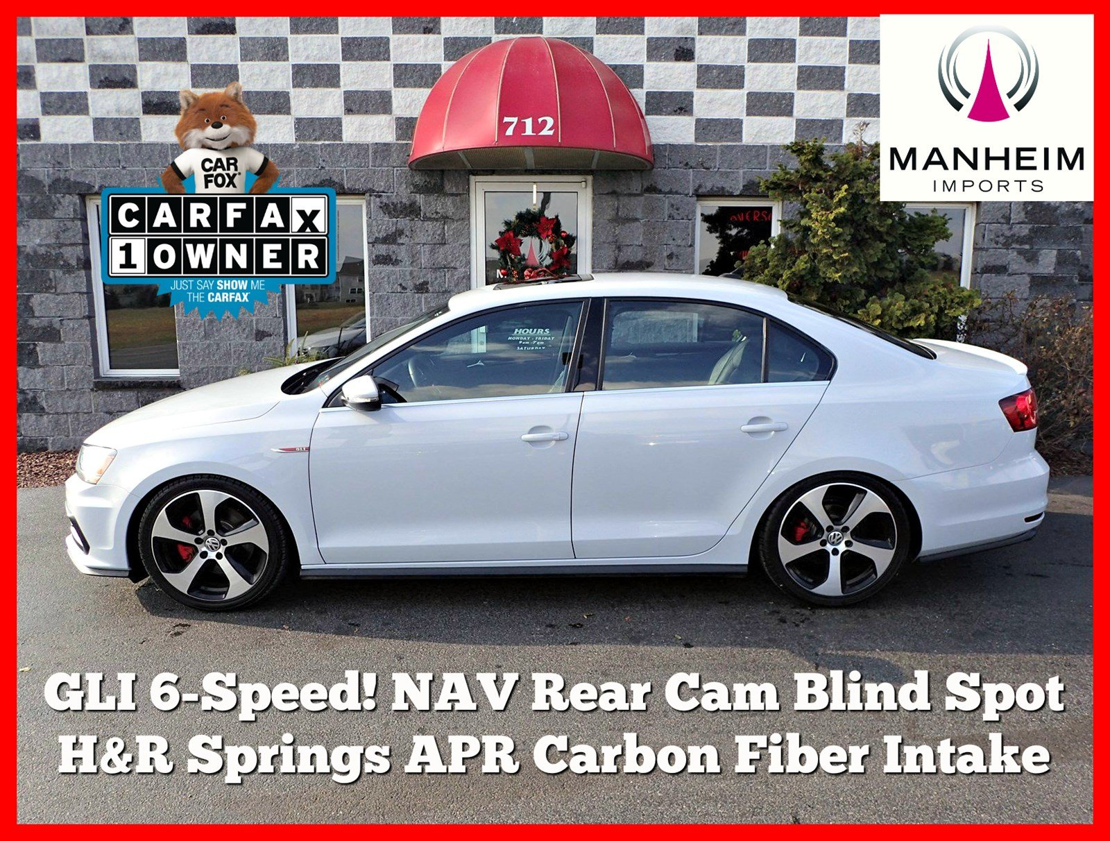 Pre Owned 2017 Volkswagen Jetta Gli 6 Speed 4dr Car In Manheim 1954 Chevy Rear Window For Blinds