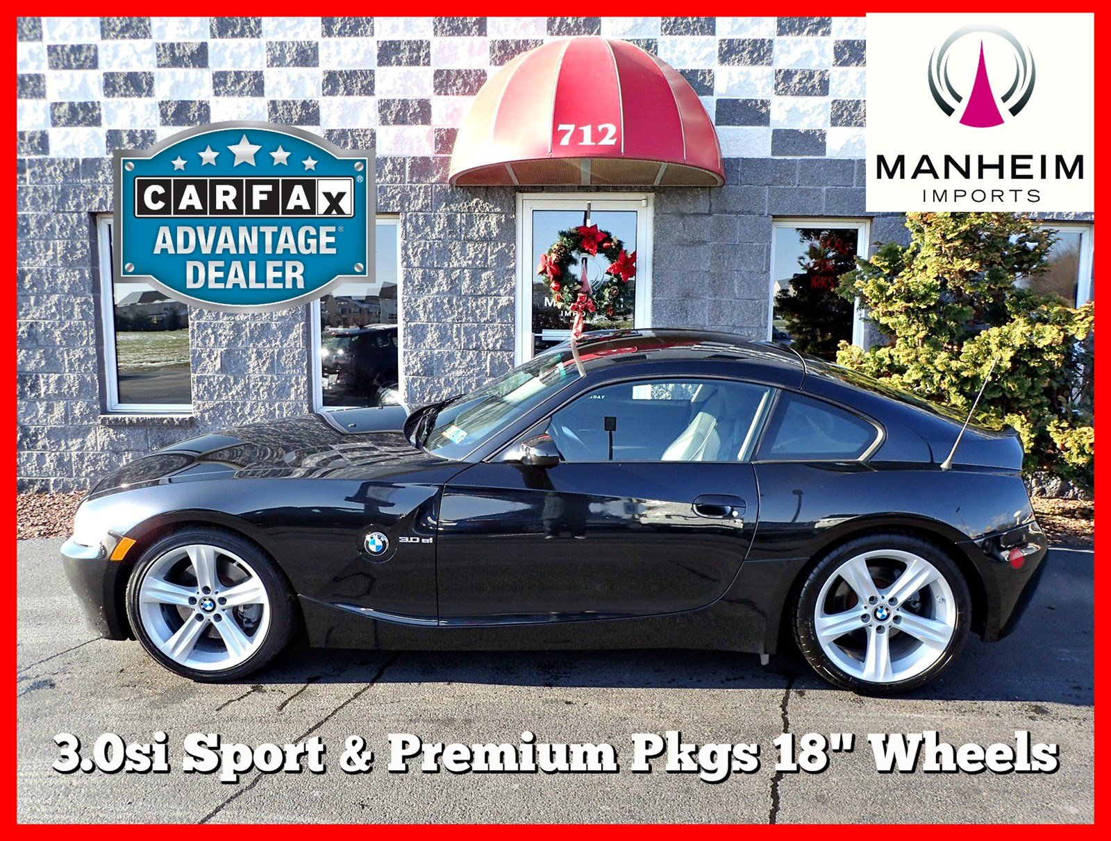 Pre-Owned 2007 BMW Z4 3.0si Coupe