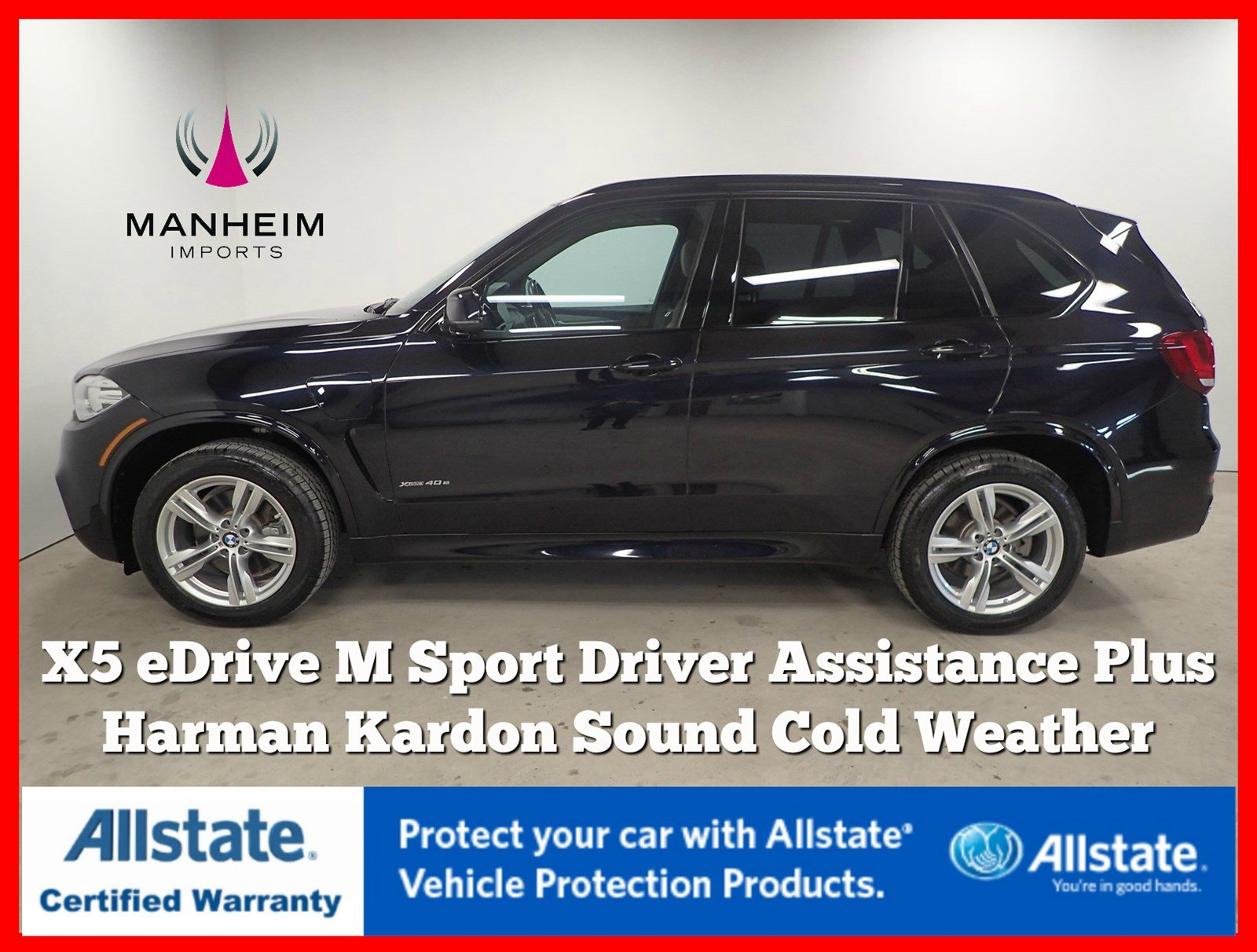 Pre-Owned 2016 BMW X5 eDrive xDrive40e M Sport