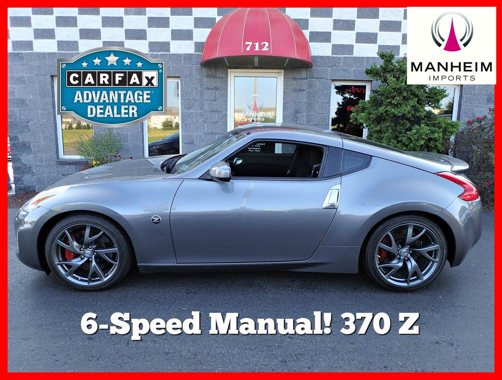 Pre-Owned 2014 Nissan 370Z 6 Speed
