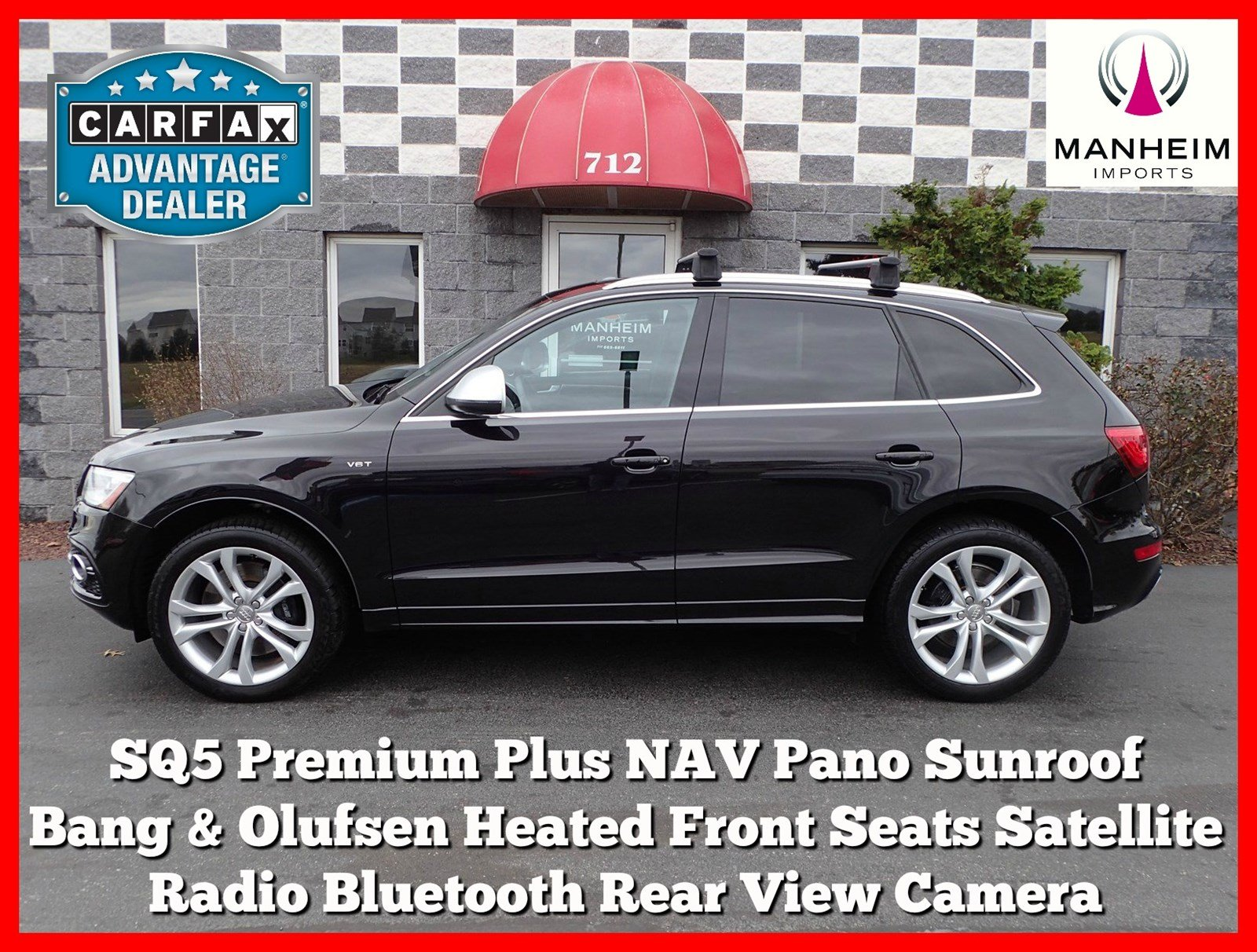 Pre-Owned 2014 Audi SQ5 Premium Plus