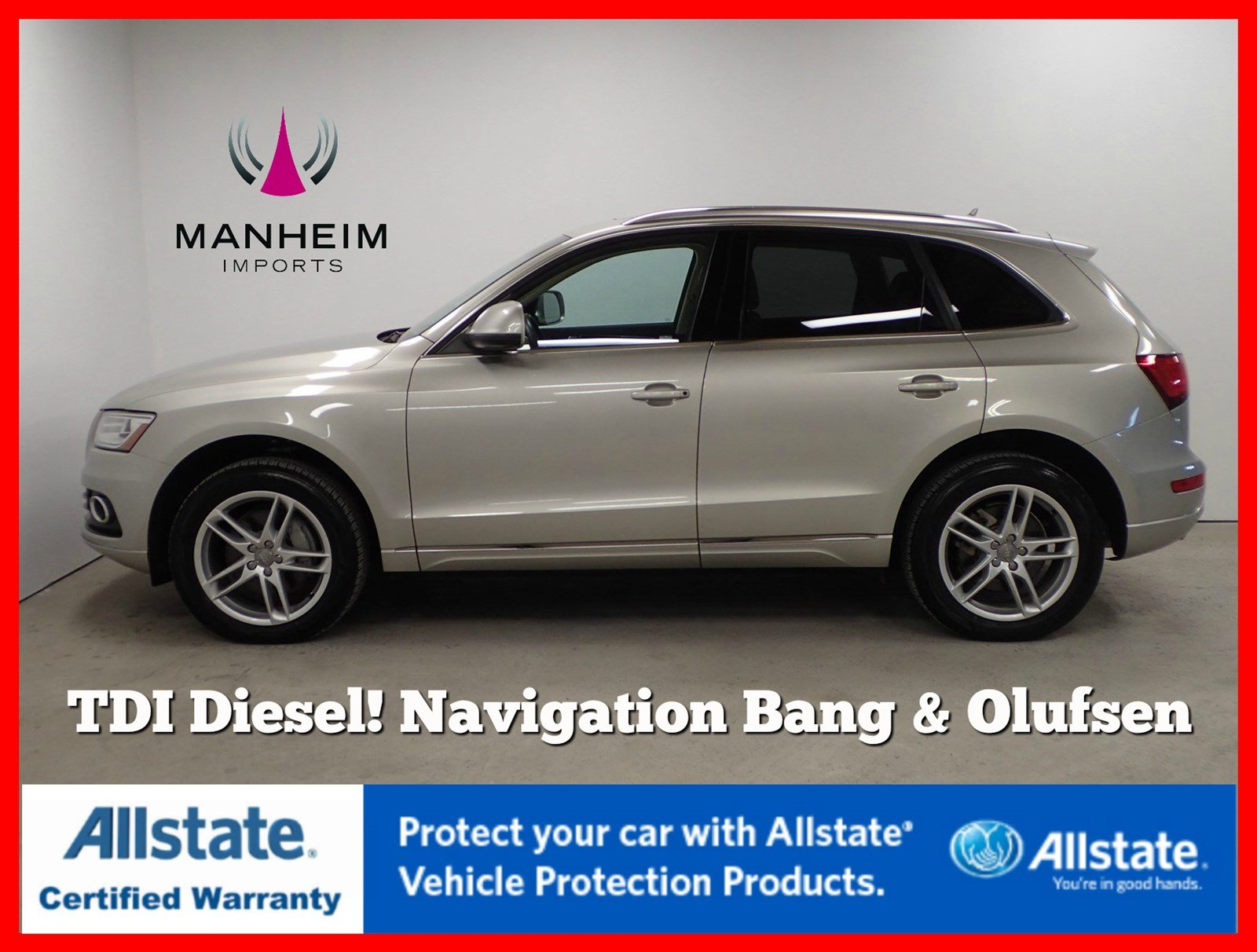 Pre-Owned 2014 Audi Q5 TDI Premium Plus NAV