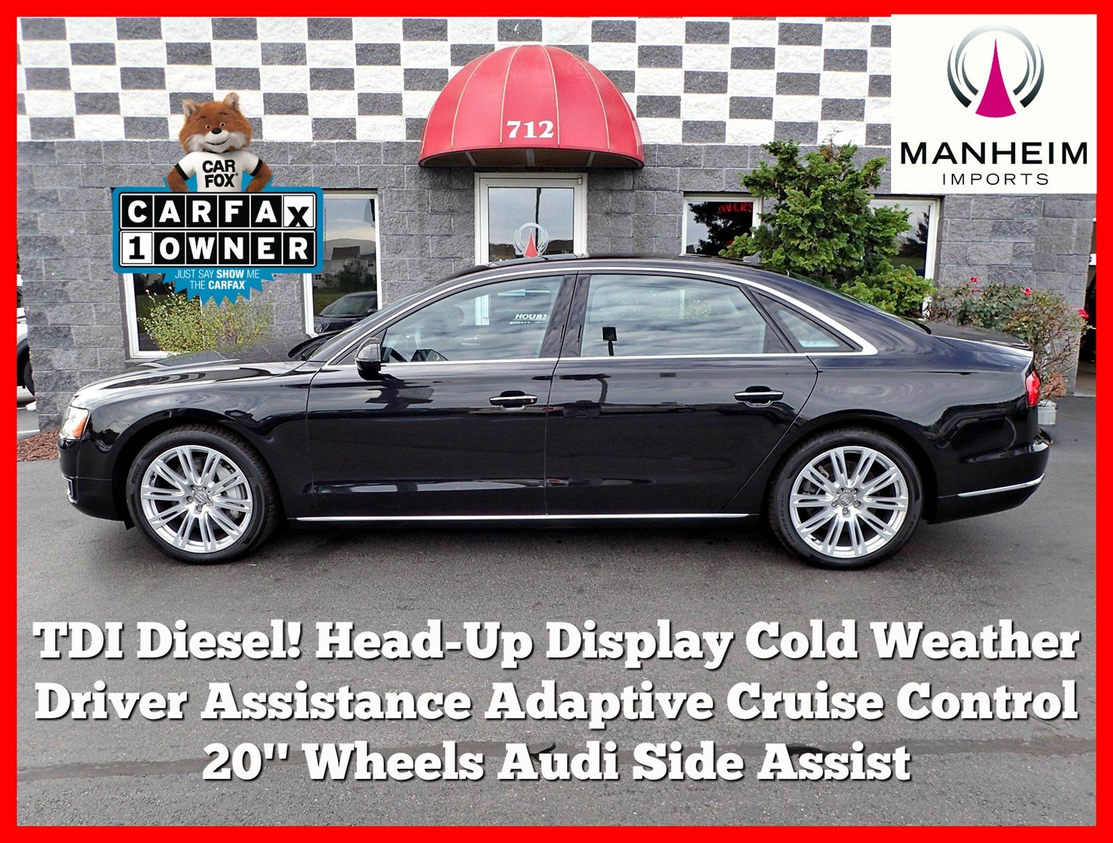 Pre Owned 2015 Audi A8 L TDI 4dr Car in Manheim