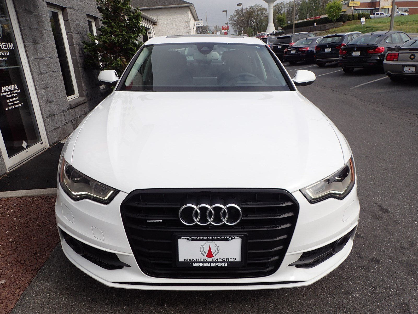 pre owned 2014 audi a6 3 0t prestige black optic 4dr car. Black Bedroom Furniture Sets. Home Design Ideas