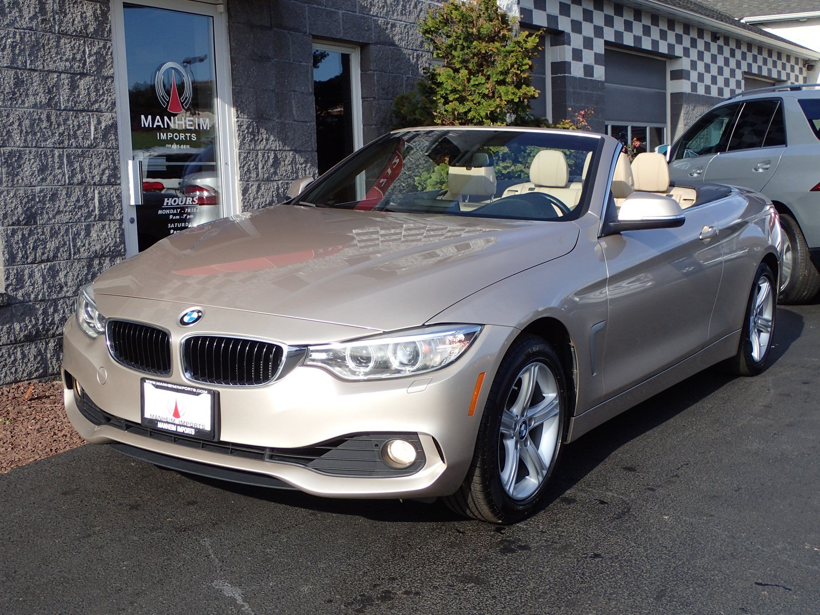 PreOwned BMW I XDrive Convertible NAV Convertible In - 2015 convertible bmw