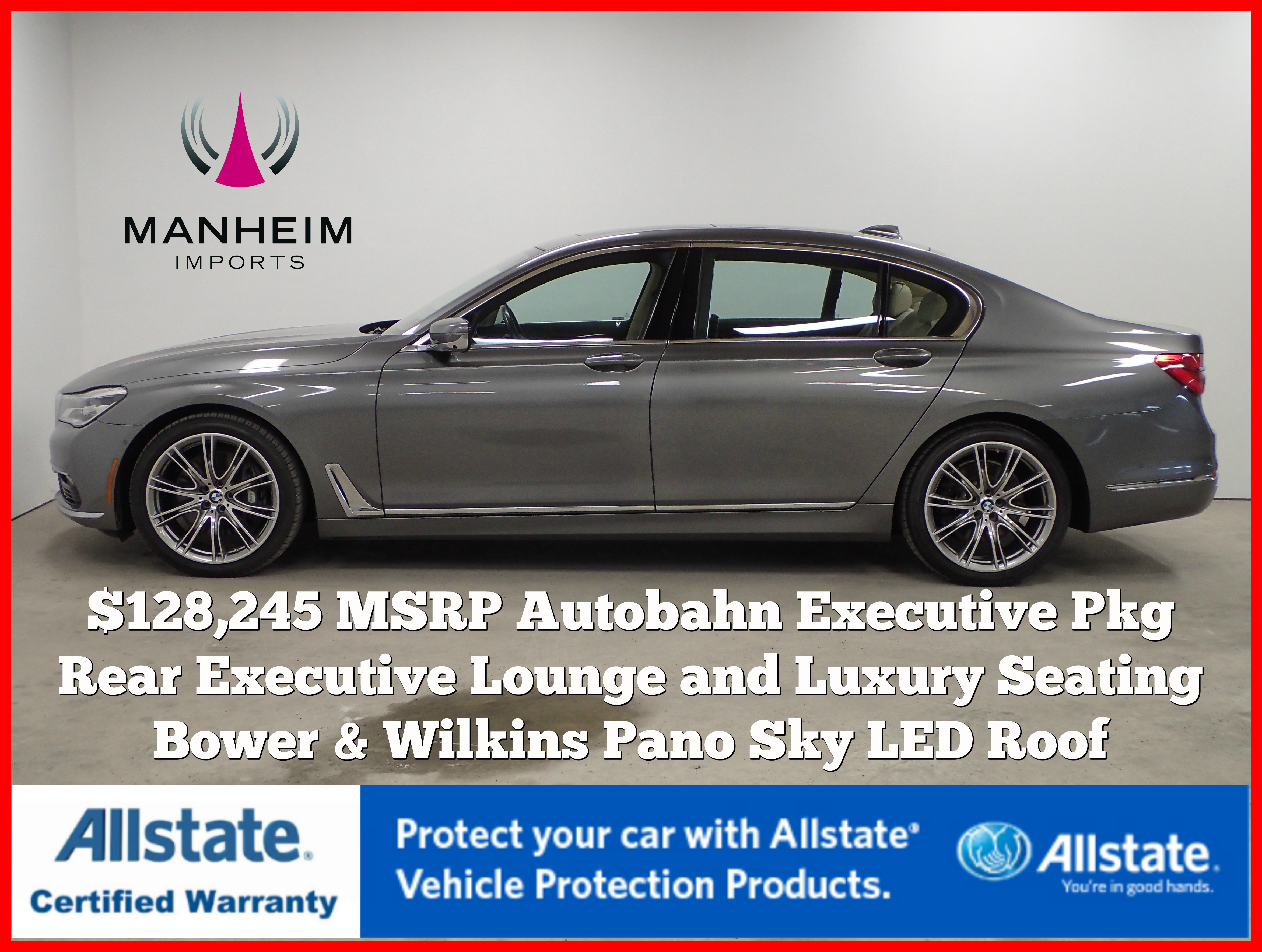 Pre-Owned 2016 BMW 750i xDrive Autobahn $128,245 MSRP