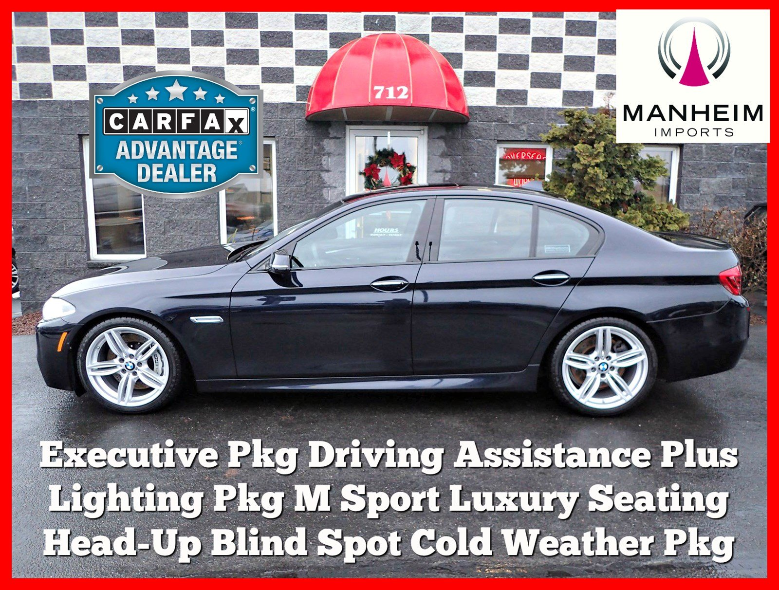 Pre-Owned 2015 BMW 550i xDrive M Sport