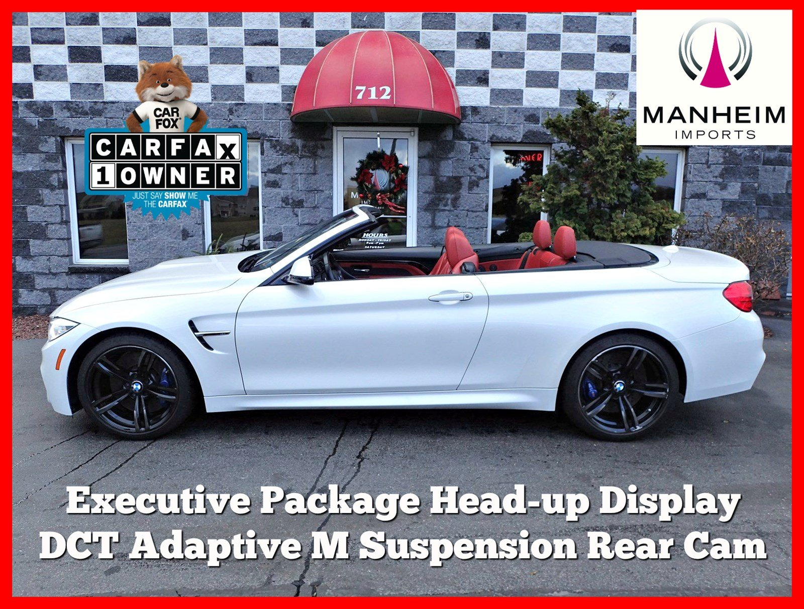 Pre-Owned 2016 BMW M4 Convertible