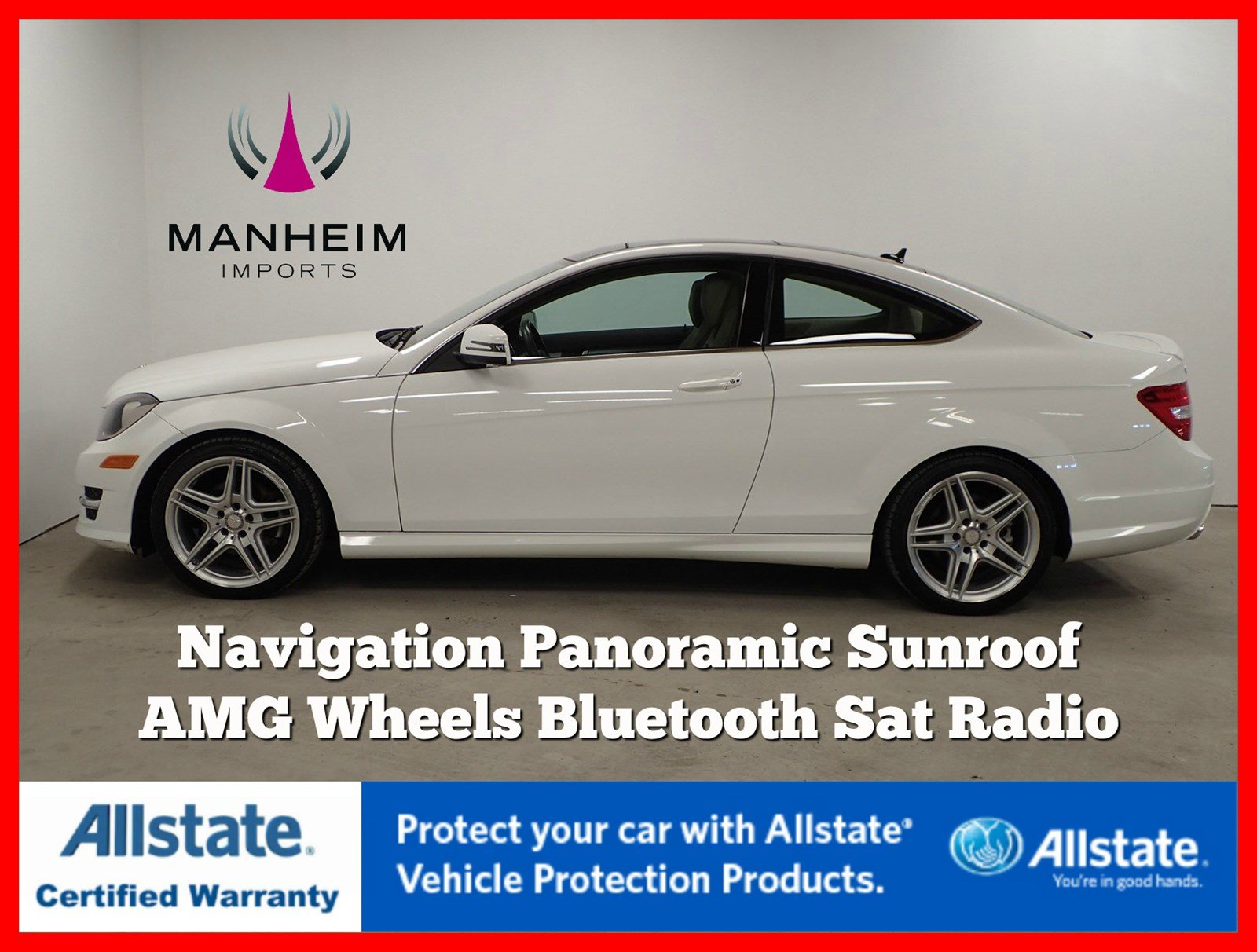 Pre-Owned 2013 Mercedes-Benz C 250 Coupe