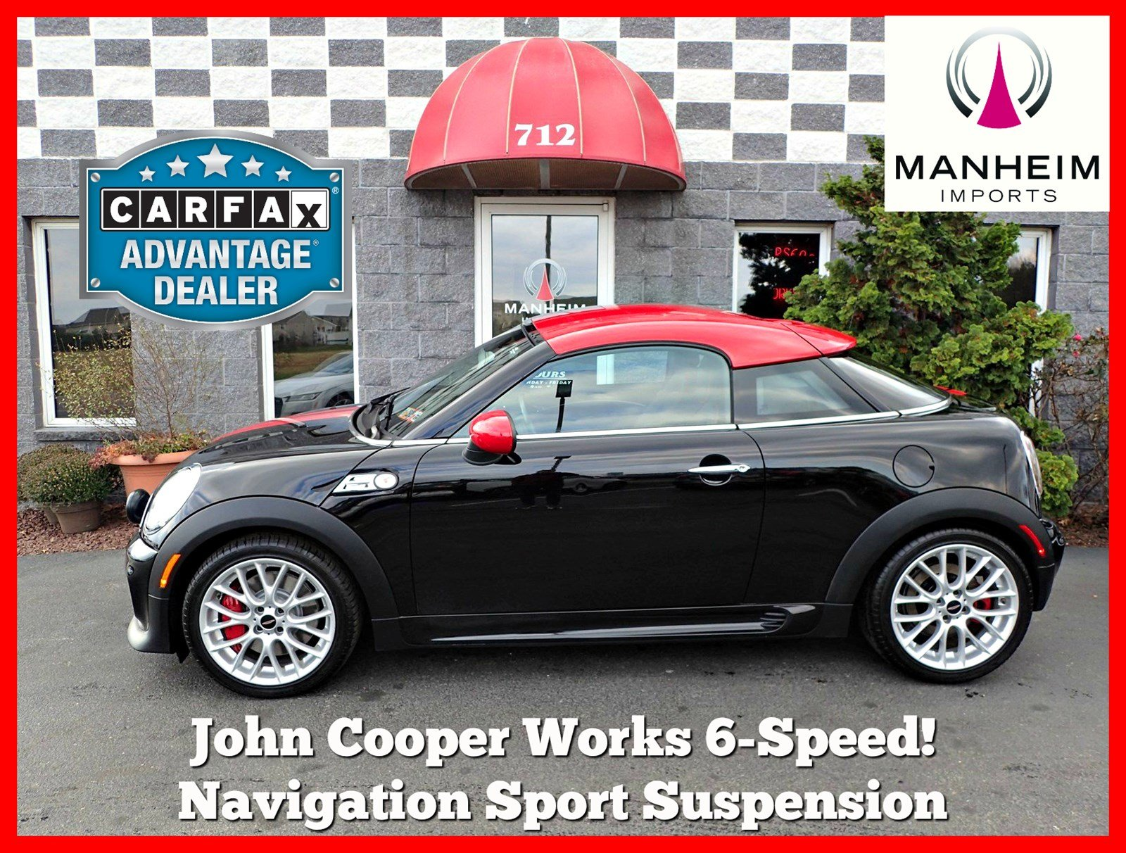 Pre-Owned 2012 MINI Cooper Coupe John Cooper Works