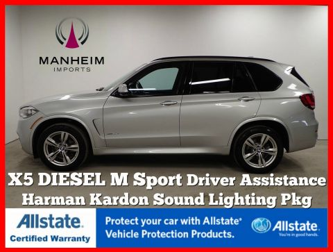 Pre-Owned 2015 BMW X5 xDrive35d M Sport