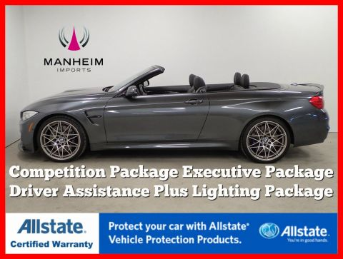 Pre-Owned 2017 BMW M4 Convertible Competition Package