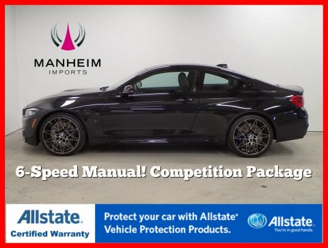 Pre-Owned 2018 BMW M4 6 Speed Competition Package